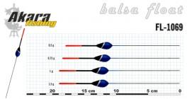 @ Pludiņš AKARA 1069 (balsa, 0,5 g, 18,0 cm, iep. 10 gab.)