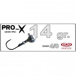 Džīgu galva PRO-X 4/0 - 14.0