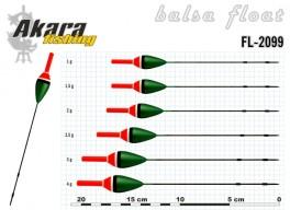 @ Pludiņš AKARA 2099 (balsa, 1,5 g, 17,0 cm, iep. 10 gab.)