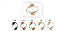 Mormiška «RĪGAS BANĀNS» Nr. 20 ar austiņu (5 mm, 1,6 g, krāsa: SIL, iep. 10 gab.)