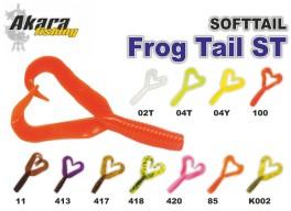 Silikona māneklis AKARA mini SOFTTAIL «Frog Tail ST» (40 mm, krāsa 04T, iep. 6 gab.)