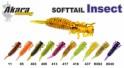 Silikona māneklis AKARA SOFTTAIL «Insect» (65 mm, krāsa 409, iep. 4 gab.)