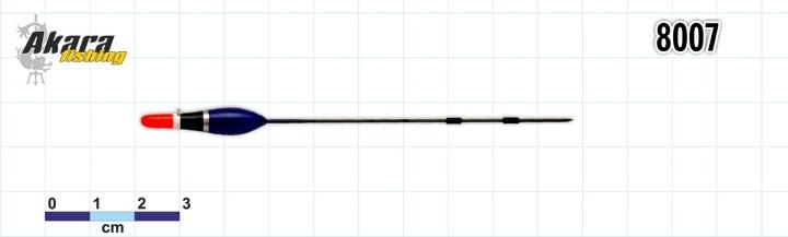 @ Pludiņš AKARA 8007 (balsa, 0,4 g, 13,0 cm, iep. 10 gab.)