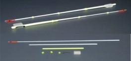 Lavsāna sardziņš AKARA S-LS 20S (silikona stipr., 140 mm, stingrums: 0,20, slodze: 0,10 - 0,30 g, iepak. 25 gab.)