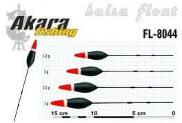 @ Pludiņš AKARA 8044 (balsa, 2,5 g, 14,5 cm, iep. 10 gab.)