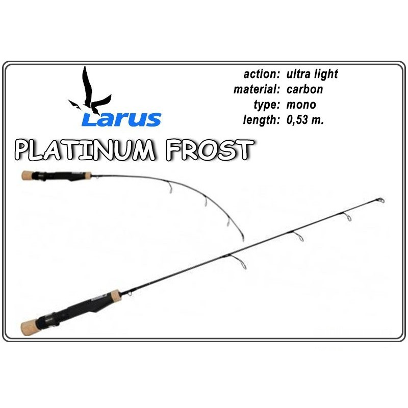 Makšķerkāts LARUS Platinum FROST 53 - ultra light