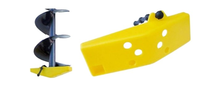 Ledusurbja nažu aizsargapvalks CK-ID (plastm. ar gumiju, diam. 150 mm, iepak. 1 gab.)