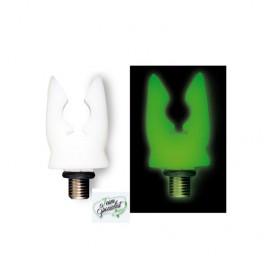 Uzskrūvējams fluorescējošais  uzgalis makšķeres turētājam