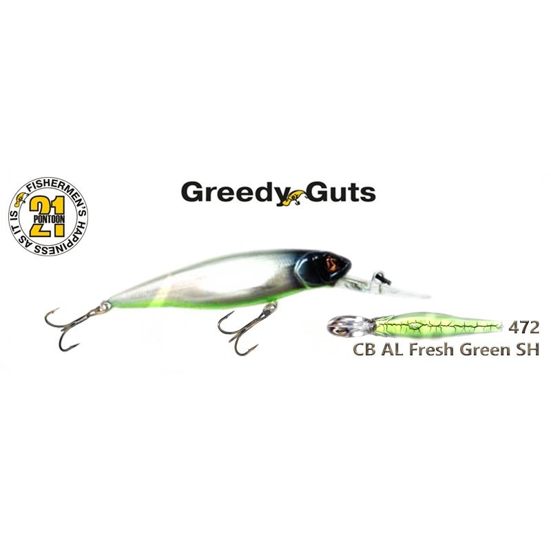 Воблер PONTOON 21 Greedy GUTS MDR 88F - 472