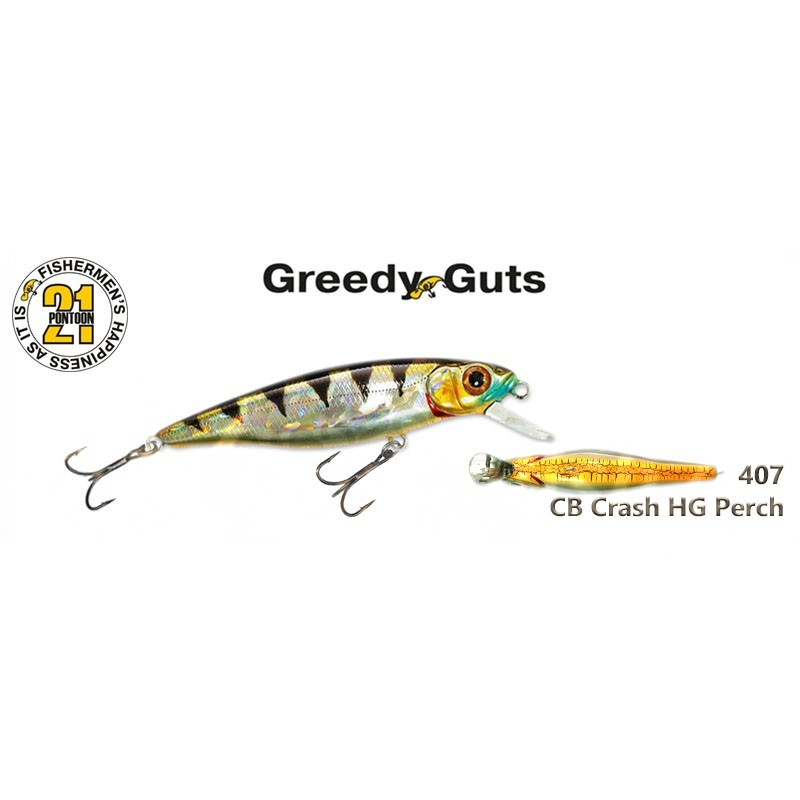 Воблер PONTOON 21 Greedy GUTS SR 88F - 407
