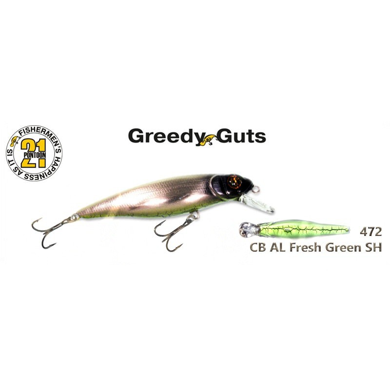 Воблер PONTOON 21 Greedy GUTS SR 88F - 472