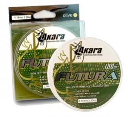 Aukla AKARA «Futura 100» (mono, 100 m, 0,160 mm, 3,20 kg, iep. 1 gab.)