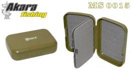 Kastīte AKARA MS 0015 (izmēri: 128x86x34 mm, nodalījumi/sekcijas: 1x /4)