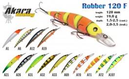 Vobleris AKARA «Robber» 120 F (19 g, 120 mm, krāsa A127, iep. 1 gab.)