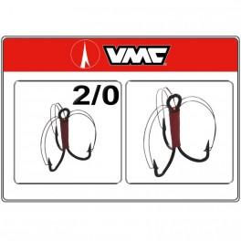 Āķi VMC Treble GRASSFREE BN - 2/0
