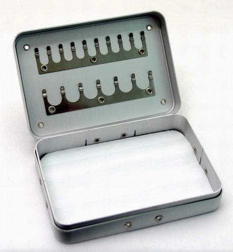 Kastīte COHY 12 (izmēri: 90x65x23 mm, nodalījumi/sekcijas: 2x / 1)