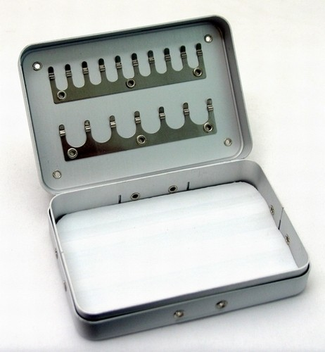 Коробочка COHY 12 (размеры: 90x65x23 мм, разделы/секции: 2x / 1)
