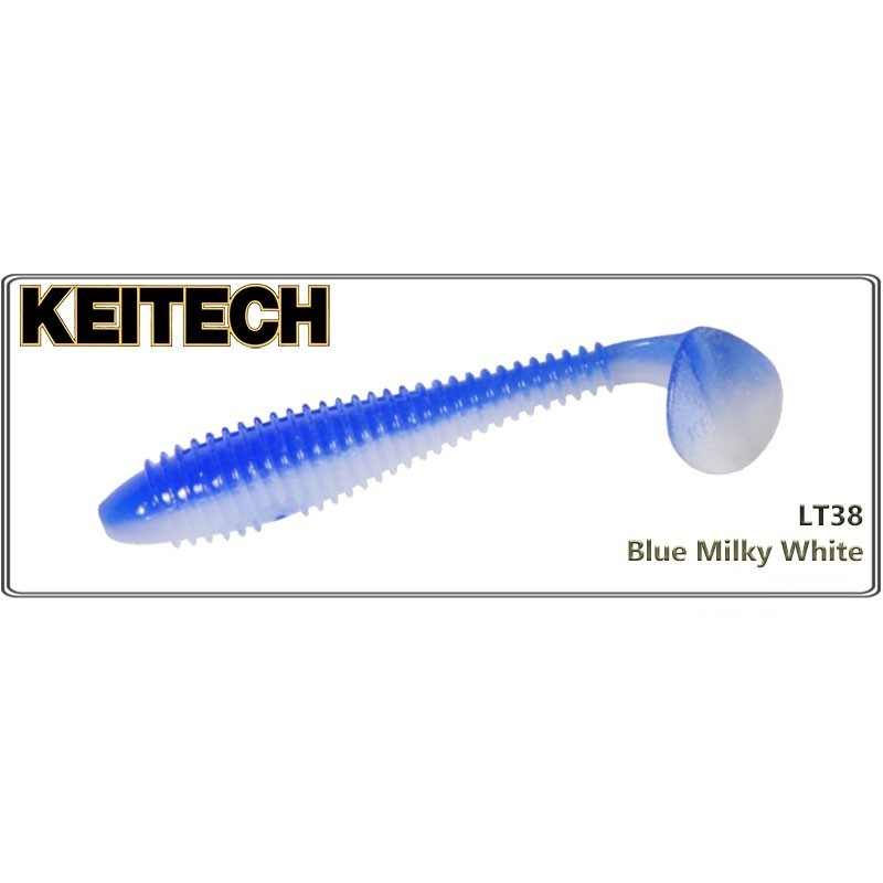 Силиконовая приманка KEITECH Swing IMPACT FAT 2.8 - LT38