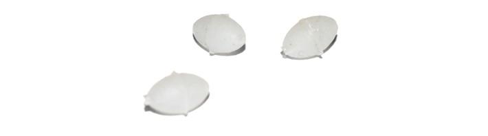 Fosforizēta bumbiņa AKARA BD-3159 (4 mm, iep. 10 gab.)