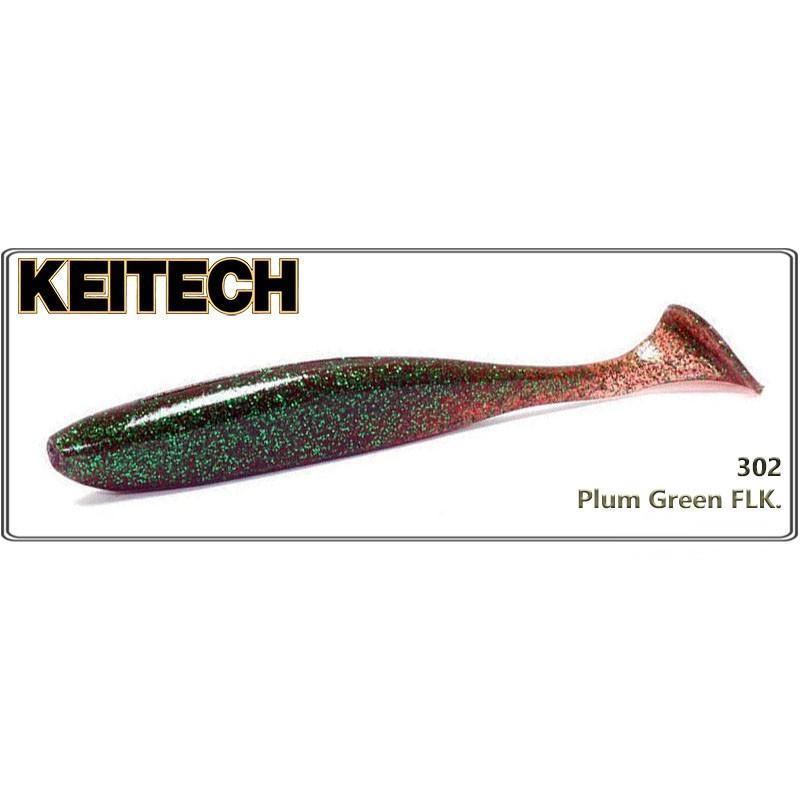 Силиконовая приманка KEITECH Easy SHINER 4.0 - 302