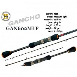 Makšķerkāts PONTOON 21 GanchO 602MLF - 183, 4-16