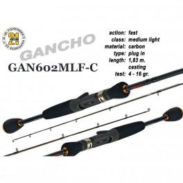 Makšķerkāts PONTOON 21 GanchO 602MLF-C - 183, 4-16