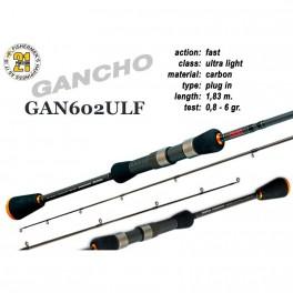 Makšķerkāts PONTOON 21 GanchO 602ULF - 183, 0.8-6