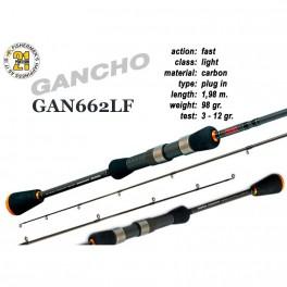 Makšķerkāts PONTOON 21 GanchO 662LF - 198, 3-12