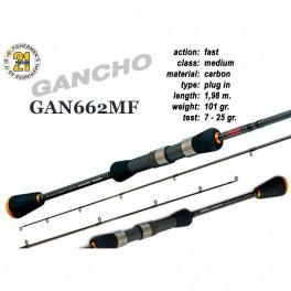 Makšķerkāts PONTOON 21 GanchO 662MF - 198, 7-25