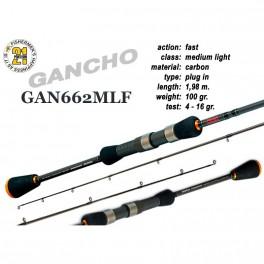 Makšķerkāts PONTOON 21 GanchO 662MLF - 198, 4-16