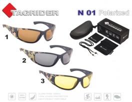 Saulesbrilles TAGRIDER N 01 (polarizētas, filtru krāsa: Yellow)