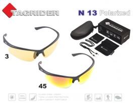 Saulesbrilles TAGRIDER N 13 (polarizētas, filtru krāsa: Yellow)