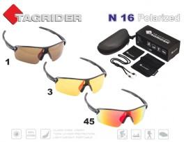 Saulesbrilles TAGRIDER N 16 (polarizētas, filtru krāsa: Gold Red Mirror)