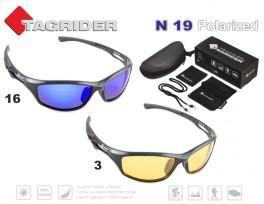 Saulesbrilles TAGRIDER N 19 (polarizētas, filtru krāsa: Yellow)