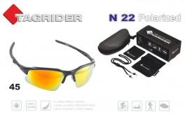 Saulesbrilles TAGRIDER N 22 (polarizētas, filtru krāsa: Gold Red Mirror)