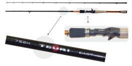 Makšķerkāts AKARA «TEURI Cast TX-30» 2X (saliek., 2,28 m, oglekļšķ., 135 g, tests: 17,5-49 g)