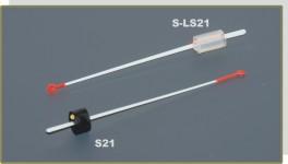 Lavsāna sardziņš AKARA S 21 (gumijas stipr., 80 mm, stingrums: 0,20, slodze: 0,10 - 0,25 g, iepak. 25 gab.)