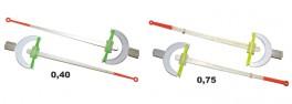 Lavsāna sardziņš AKARA SP Crossbow Bream (silikona stipr., 140 mm, stingrums: 0,40, iepak. 5 gab.)