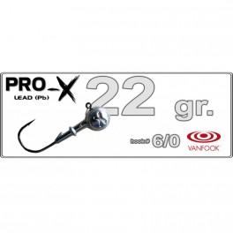 Džīgu galva PRO-X 6/0 - 22.0