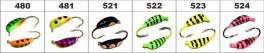 Mormiška «BANĀNS SPORT» Nr. 66 ar austiņu (4 mm, 0,85 g, krāsa: 522, iep. 10 gab.)