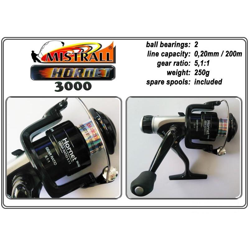 Spole MISTRALL Hornet - 3000 RD