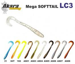 @ Silikona māneklis AKARA SOFTTAIL «LC 3» (70 mm, krāsa 31, iep. 10 gab.)