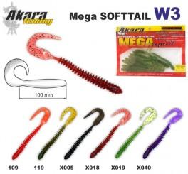 @ Silikona māneklis AKARA SOFTTAIL «W 3» (100 mm, krāsa X018, iep. 10 gab.)