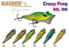 @ Vobleris RAIDEN «Crazy Frog» 80 TW (10,5 g, 80 mm, krāsa 007, iep. 1 gab.)