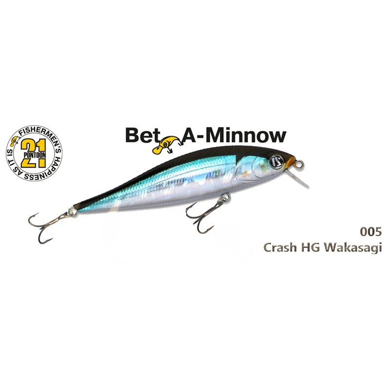 Воблер PONTOON 21 Bet-A-MINNOW SR 102F - 005