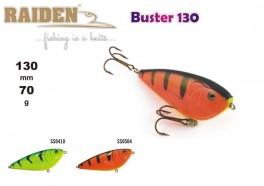 @ Vobleris RAIDEN «Buster» 130 WS (70 g, 130 mm, krāsa SS0504, iep. 1 gab.) koks