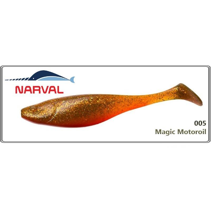 Silikona māneklis NARVAL Commander Shad 16 - 005