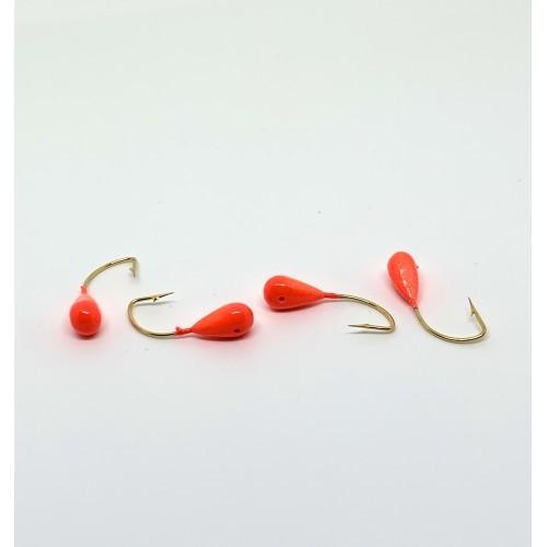 Пластмассовая мормышка *10 красная