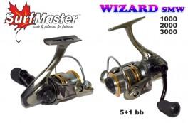 Bezin. spole SURF MASTER «Wizard» SMW-3000 (5+1 bb, 0,20/140 mm, 5,3:1)