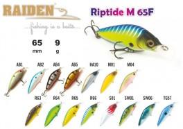 @ Vobleris RAIDEN «Riptide M» 65 F (9 g, 65 mm, krāsa M01, iep. 1 gab.)